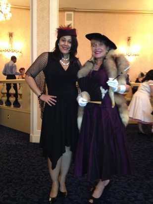 """Serving as emcee for """"Storming the Sazarac"""" at Roosevelt hotel in 2013."""