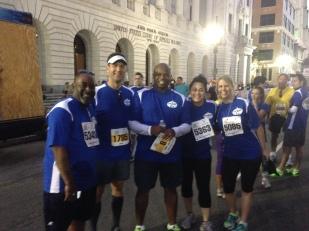 Team 6 for the Children's Hospital Jazz Half Marathon 2013