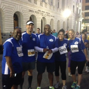 Team 6 for the Children's Hospital Jazz Half Marathon 2013